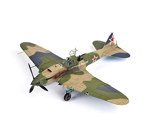 """EP-Toy Aircraft Model, World War II Weapons Soviet IL-2"""" Finished Product Model, Military Decoration Non-Souvenir Souvenirs from EP-Toy"""