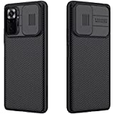for Xiaomi redmi Note 10 Pro Case, Nillkin CamShield Slim case Protective Cover with Camera Protector Hard PC and TPU Ultra T