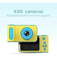Kids Digital Camera, 2 Inch 1080 HD Screen Mini Children Camera(Blue) - Jimwey Jicson J66