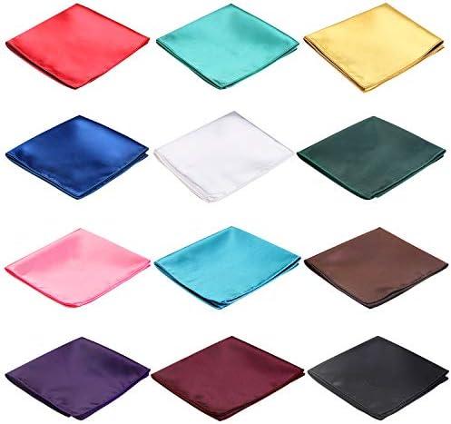 シルク ポケットチーフ メンズ ハンカチ ブラック ホワイト パープル レッド ブルー グリーン ゴールド ピンク ブラウン ターコイズ ティール ポケット スクエア