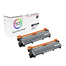TCT Premium Compatible TN660 High Yield Black Toner Cartridge 2 Pack - 2,600 yield- Replaces Brother TN-660, works with the HL-L2300,L2320,L2340, DCP-L2500,L2520,L2540, MFC-L2700,L2720,L2740
