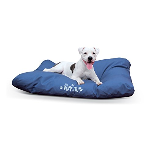 Tough Dog Bed Cover (K&H Pet Products K-9 Ruff n' Tuff  Pet Bed Large Navy Blue 36