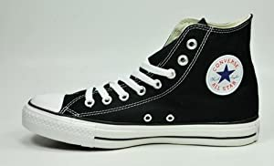 Converse Unisex Chuck Taylor® All Star® Core Hi Classic Black Sneaker Men's 11.5 Medium