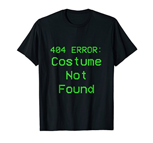 404 Error Costume Not Found Green No
