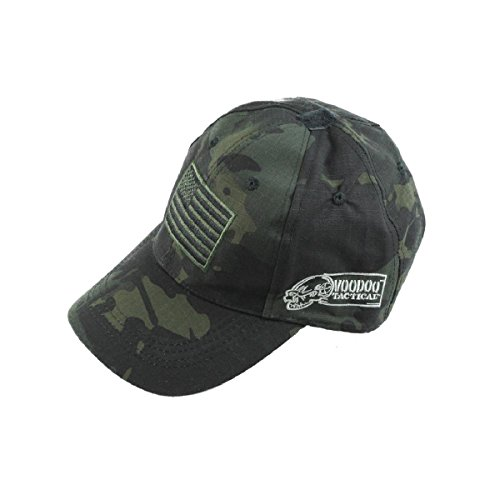VooDoo Tactical 20-9353072000 Cap, Black Multicam