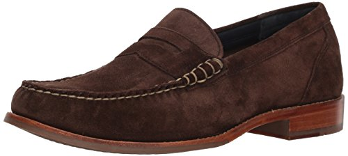 Cole Haan Men's Pinch Grand Casual Penny Loafer, muir Suede, 11 Medium - Loafers Brown Suede
