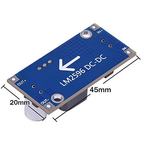 6 Pack LM2596 DC à DC Convertisseur abaisseur 3.0-40V à 1.5-35V Alimentation Abaisseur Module outlet