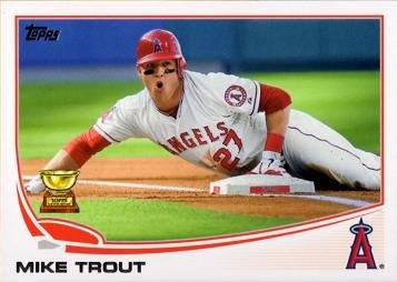 2013 Topps Baseball Mike Trout