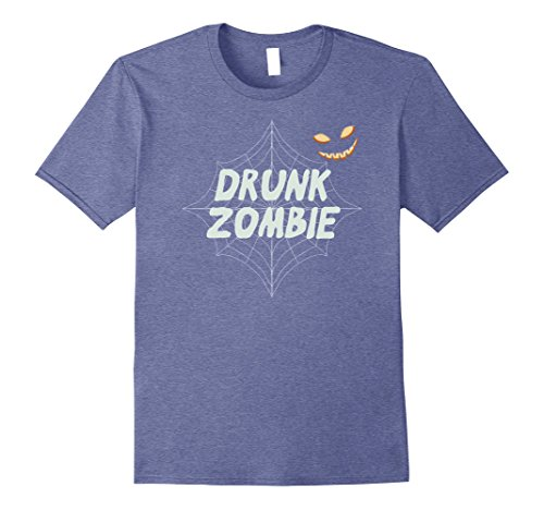 Mens Drunk Zombie Costume - Halloween Costume for Adults 2XL Heather (Zombie Family Costume Ideas)