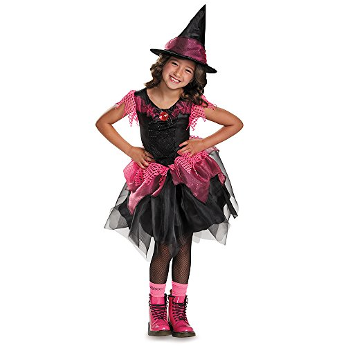 [Disguise Witch Costume, Medium (7-8x)] (Halloween Witch Costumes Kids)