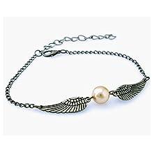 Golden Snitch Harry Potter Bracelet - Golden Snitch Bracelet for Book Lovers