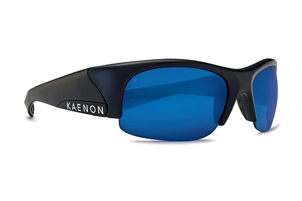 Kaenon レディース ユニセックスアダルト Hard Kore-Polarized カラー: ブラック   B07B9KWLVZ