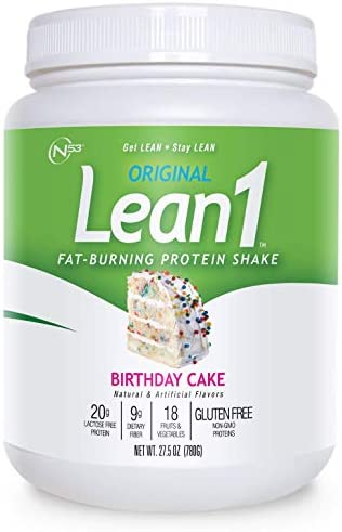 LEAN1 Nutrition 53, Birthday Cake, 27.5 Ounce
