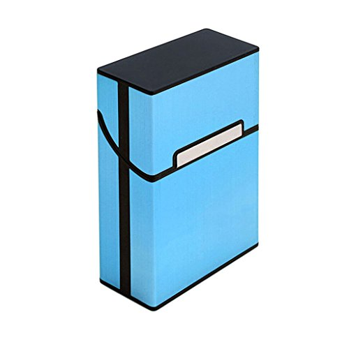 Simplelife Portacorrente In Contenitore Sigari Alluminio Di Per Custodia Blu Leggera rBv50grqw