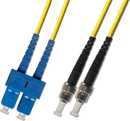 9//125 - SC to ST 25M Singlemode Duplex Fiber Optic Cable