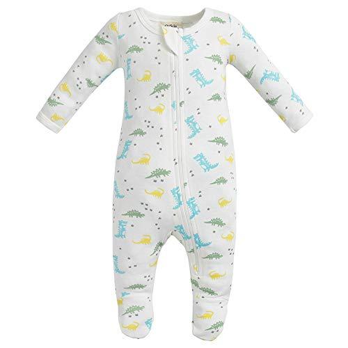 Owlivia Organic Cotton Baby Boy Girl Zip Front Sleep