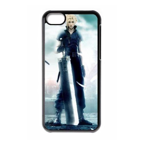 Final Fantasy Boy Ilike Com IR27BP1 coque iPhone Téléphone cellulaire 5c cas coque F0RO2H1EL