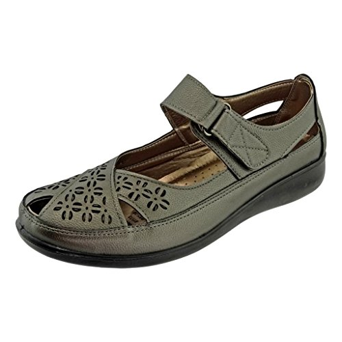 Pierre Dumas Womens Libby-36 Mary Jane Flat Sandals