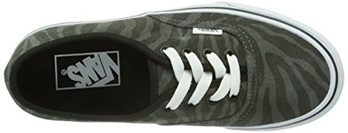 Vans U Authentic (Suede) Zebra/T - Zapatillas de deporte Unisex adulto, Negro (Zebra/True White), 37 EU (4.5 Erwachsene UK)