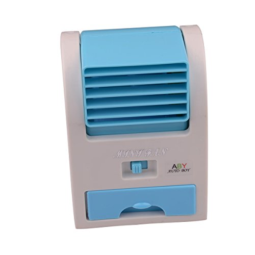 Autoboy Mini USB Portable Desktop Bladeless Wind Cooling Bladeless Fan Air Conditioner by Beautifue_store