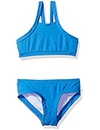 Seafolly Big Girls' Ditsy Romance Spot Tankini