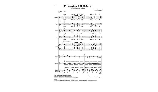 Processional Hallelujah Percussion - Juego de accesorios: Amazon ...