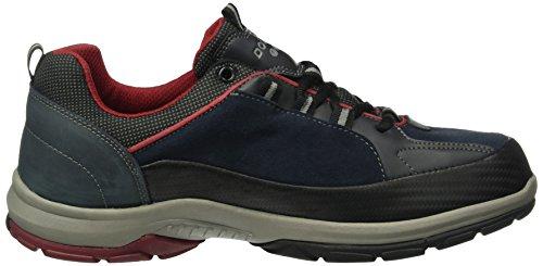 Dockers by Gerli 39fa006-543670 - Zapatillas de senderismo Hombre Azul - Blau (dunkelblau 670)