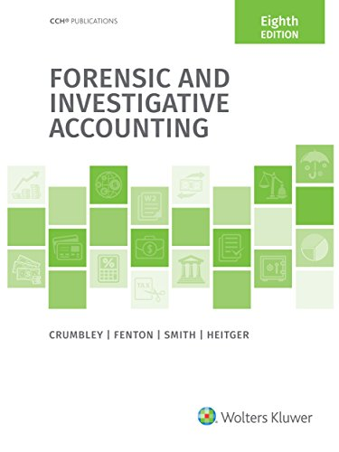 Amazon forensic and investigative accounting 8th edition forensic and investigative accounting 8th edition by crumbley d larry fandeluxe Image collections