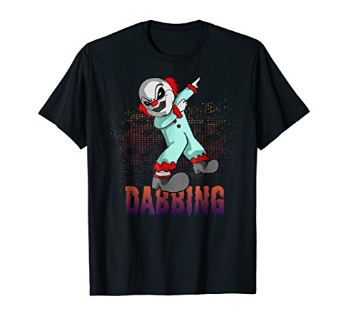 Dabbing Clown Tshirt, Halloween Killer Clown Tees for -