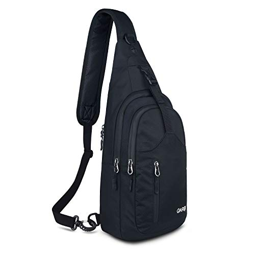 (CARQI Sling Bag Waterproof Shoulder Backpack Chest Crossbody Purse for Travel)