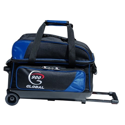900 Global Value 2 Ball Roller Bowling Bag- Blue/Black by 900 Global