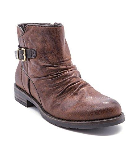 Baretraps Callahan Womens Boots Brush Brown
