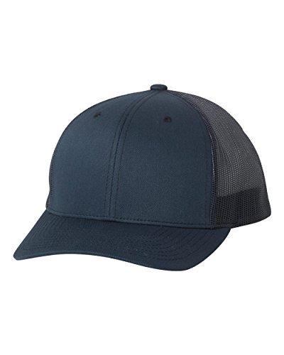 Flexfit/Yupoong 6606,6606T Retro Trucker Hat (Navy) - Retro Hat