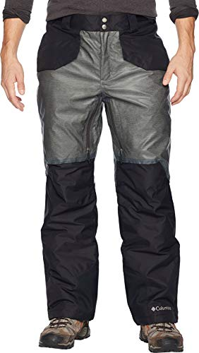 (Columbia Men's Outdry¿ Glacial Hybrid Pants Charcoal Heather/Black Small 31.5 31.5)