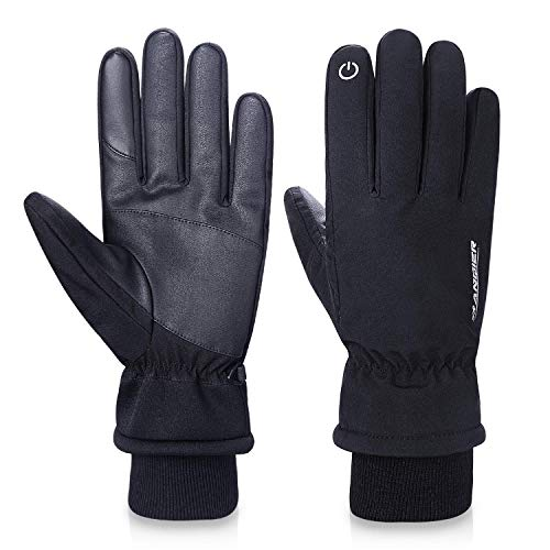 FengNiao Winter Gloves -20?Cold Proof 3M Thinsulate Cotton Thermal Touchscreen Gloves Men Women Outdoor Waterproof Gloves for Driving Cycling Running Hiking Skiing