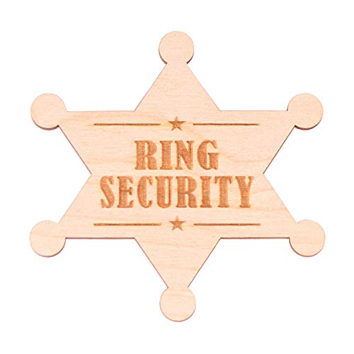 Ring Security Badge for Ring Bearer Gifts Wedding]()