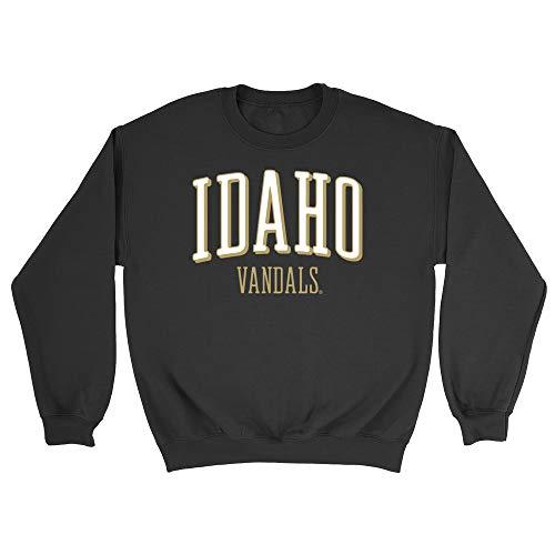 NCAA Idaho Vandals Boyfriend Sweatshirt, X-Large, Black ()