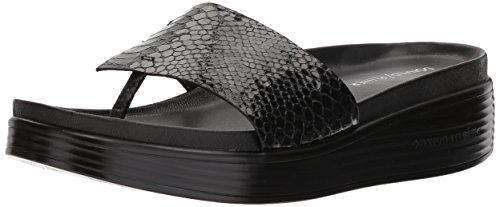Donald J Pliner Women's FIFI19 Slide Sandal, Black, 8 Medium US by Donald J Pliner