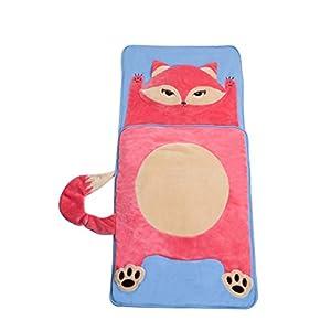 Asweets Fox Furry Toddler Kids Sleeping Bag