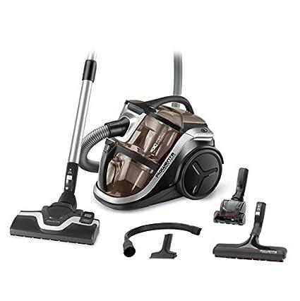 Rowenta Silence Force Multi RO8388EA - Aspirador sin bolsa multiciclónico, silencioso, fácil de limpiar, vaciar y almacenar, incluye con accesorios ...
