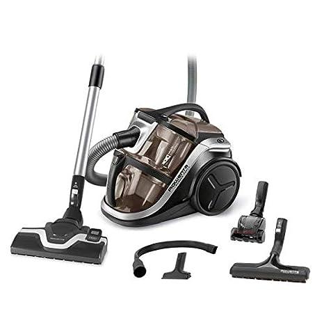 Rowenta Silence Force Multi RO8388EA - Aspirador sin bolsa multiciclónica con clasificación 4A, silenciosa,