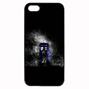 Doctor Who Movie & TV Unique Custom Image Case iphone 5 case , iphone 5S case, Diy Durable Hard Case Cover for iPhone 5 5S , High Quality Plastic Case By Argelis-sky, Black Case New