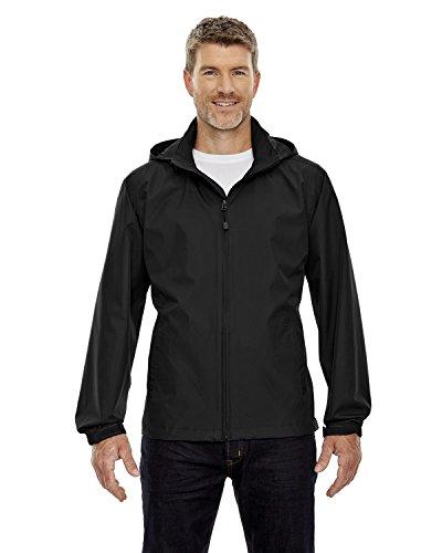Ash City - North End North End Men's Zipper Techno Lite Jacket, Black, Large