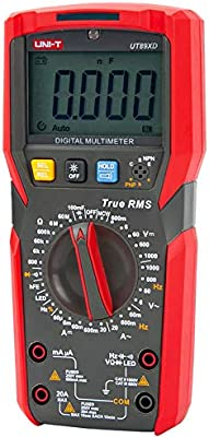 UNI-T Digital True RMS Multimeter UT89XD LED Test Count 6000