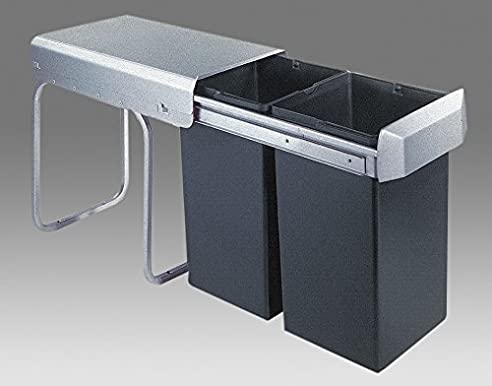 Wesco Einbaueimer Double 1/ 755611-11/ - Abfallbehälter/Mülleimer ...