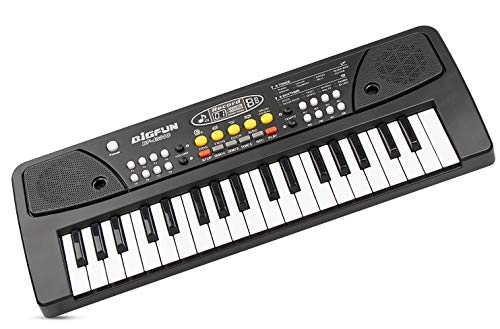 (BETECHO Chargable Piano for Kids , 37 Keys Multi-Function Charging Electronic Kids Piano Keyboard Educational Toy Organ for Toddlers Kids)