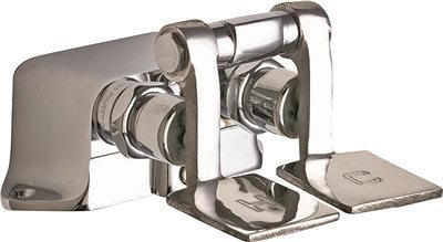 Chicago Faucets 625-ABRCF Floor Mount Double Pedal Valve, Rough ()