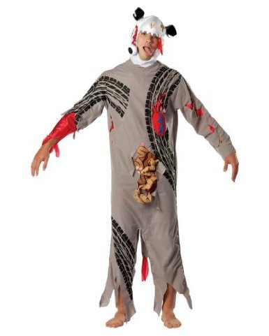[Rasta Imposta Road Kill Adult, Multi, One Size] (Zombie Costume Ideas For Adults)
