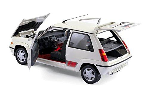 Norev 185206 - Renault 5 GT Turbo Fase 2 - 1989 - Escala 1/18 - blanco Panda: Norev: Amazon.es: Juguetes y juegos