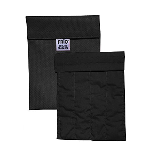 Frio Insulin Cooling Case, Reusable Evaporative Medication Cooler - Large Wallet, Black